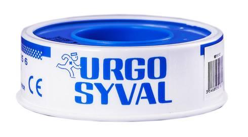 Urgo Ургосівал пластир повітропроникний з тафти 5 м x 1,25 см білий 1 шт