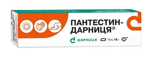 Пантестин Дарниця гель 15 г 1 туба