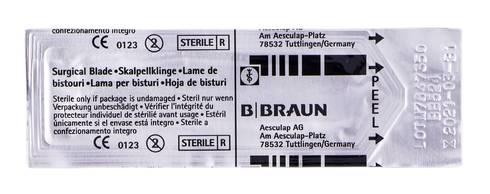 B.Braun Лезо для скальпеля карбонове 24 1 шт