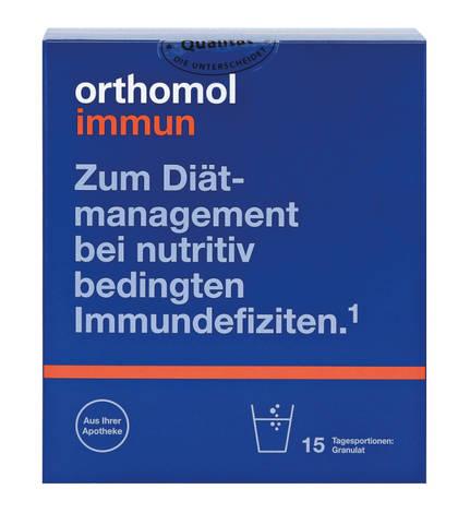 Orthomol Immun Pro гранули відновлення імунної системи 15 днів 1 комплект
