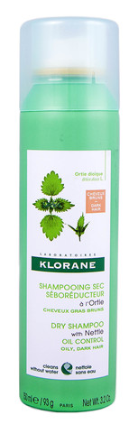 Klorane Шампунь сухий з екстрактом кропиви для жирного темного волосся 150 мл 1 флакон