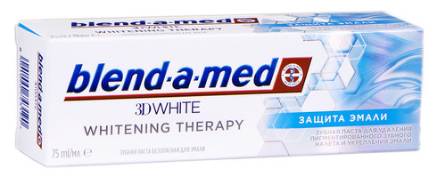 Blend-a-med Whitening Therapy Зубна паста Захист емалі 75 мл 1 туба