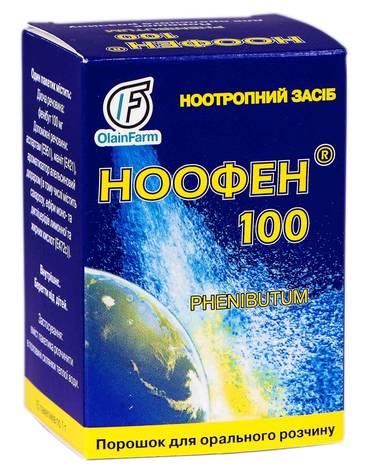 Ноофен 100 порошок для орального розчину 100 мг/дозу 15 пакетиків