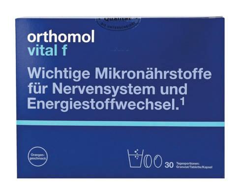 Orthomol Vital F комплекс для жінок гранули 30 днів 1 комплект