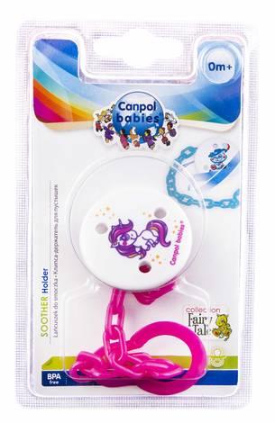 Canpol Babies Ланцюжок для пустушки Балонік з зайчиком 4/108 1 шт