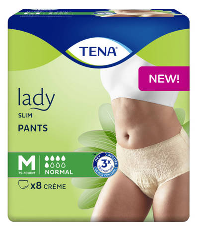 Tena Lady Slim Pants Normal Труси-підгузки для дорослих розмір M 8 шт
