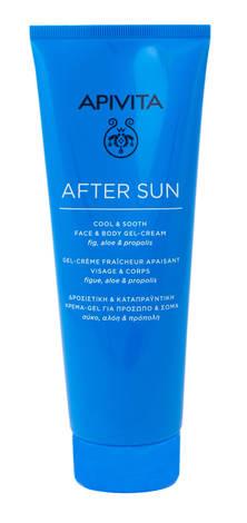 Apivita After Sun Гель-крем охолоджуючий та заспокійливий для обличчя й тіла після сонця 200 мл 1 туба