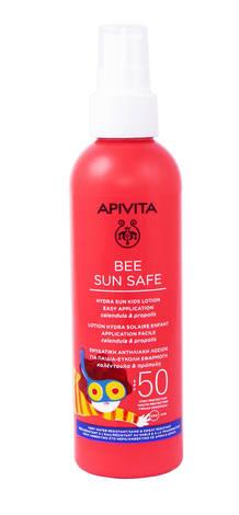 Apivita Bee Sun Safe Сонцезахисний лосьйон для дітей SPF50 200 мл 1 флакон