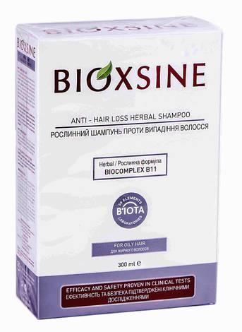 Bioxsine Шампунь проти випадіння для жирного волосся 300 мл 1 флакон