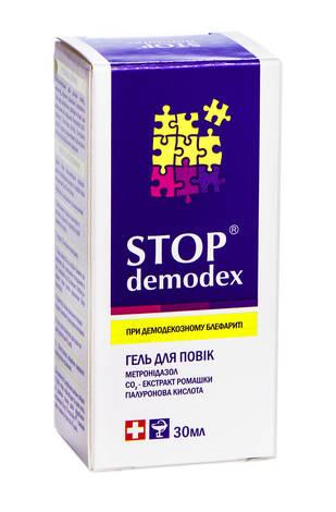 Stop Demodex Гель для повік при демодекозі та акне гель для повік 30 мл 1 туба