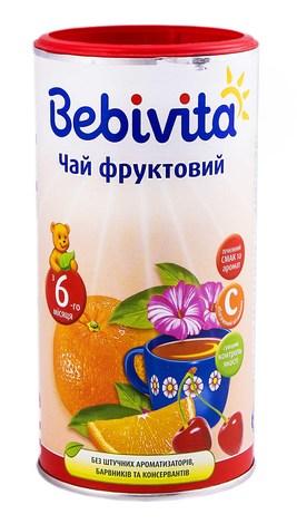 Bebivita Чай фруктовий з 6 місяця 200 г 1 банка