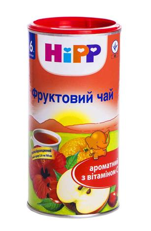HiPP Чай Фруктовий з 6 місяців 200 г 1 банка