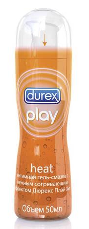 Durex Play Heat Інтимна гель-змазка з ніжним зігріваючим ефектом 50 мл 1 флакон