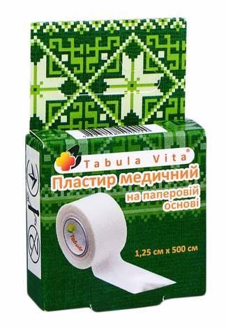 Tabula Vita Пластир медичний на паперовій основі 1,25х500 см 1 шт