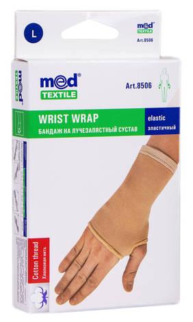 MedTextile 8506 Бандаж на променево-зап'ястковий суглоб еластичний розмір L 1 шт