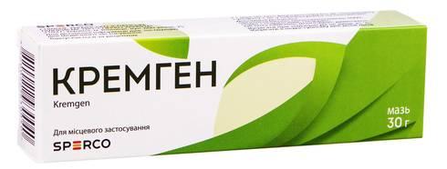 Кремген мазь 30 г 1 туба