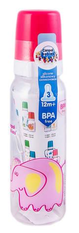 Canpol Babies Пляшечка пластикова з малюнком Африка від 12 місяців 11/840 250 мл 1 шт