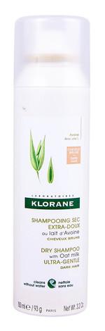 Klorane Шампунь сухий з вівсяним молочком ультра-делікатний для темного волосся 150 мл 1 флакон