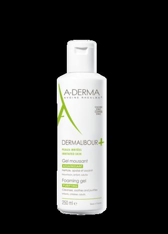A-Derma Dermalibour+ Гель антибактеріальний пінистий для очищення подразненої шкіри 250 мл 1 флакон