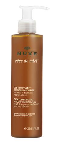 Nuxe Медова мрія Гель очищувальний для обличчя 200 мл 1 флакон