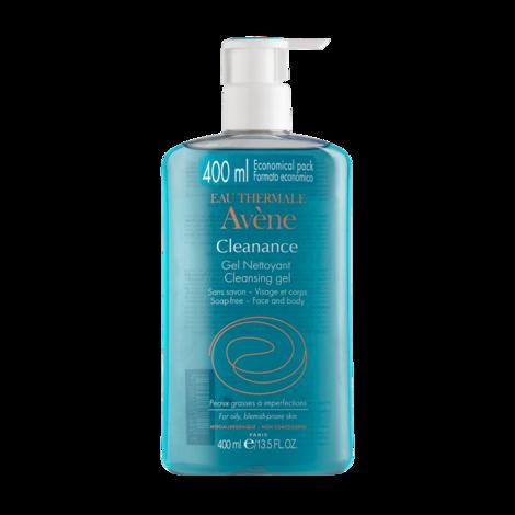 Avene Cleanance Гель очищувальний для жирної та проблемної шкіри 400 мл 1 флакон