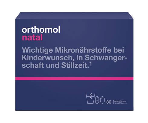 Orthomol Natal таблетки + капсули + пробіотик 30 днів 1 комплект