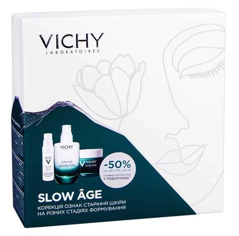 Vichy Slow Age Mineral 89 4 мл + флюїд 50 мл + нічний крем-маска 50 мл 1 набір