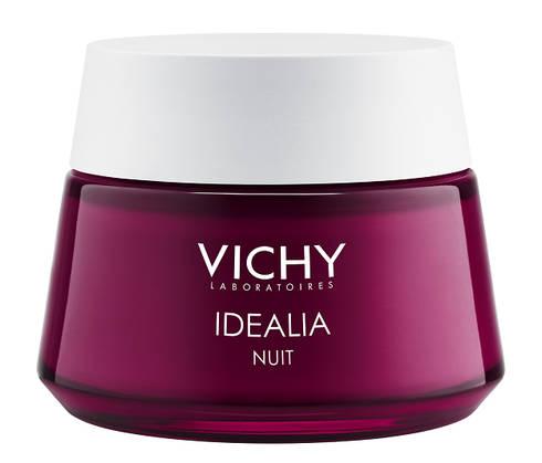 Vichy Idealia Нічний відновлюючий гель-бальзам для обличчя 50 мл 1 банка