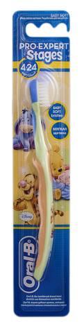 Oral-B Pro-Expert Stages Зубна щітка дитяча 4-24 місяці м'яка 1 шт