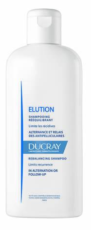 Ducray Elution Шампунь відновлює баланс шкіри голови, запобігає появі лупи 200 мл 1 флакон