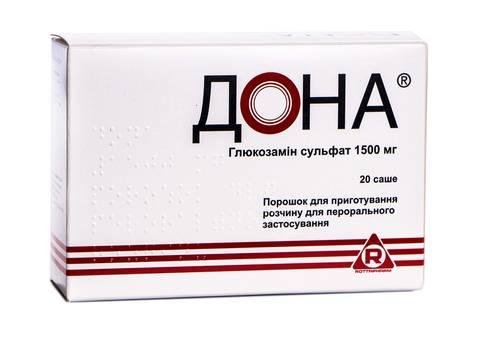 Дона порошок для орального розчину 1500 мг 20 шт