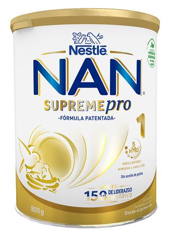 NAN Supreme 1 Суха дитяча молочна суміш для новонароджених 800 г 1 банка