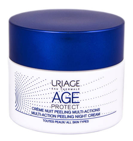 Uriage Age Protect Крем-пілінг нічний мультизадачний 50 мл 1 банка