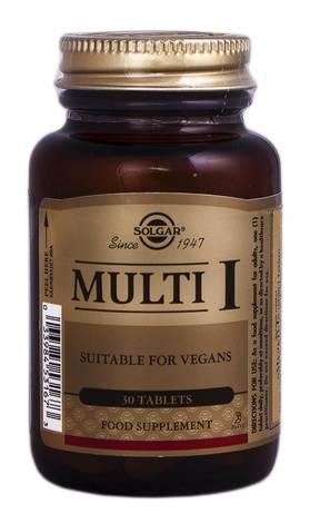 Solgar Мульти-I таблетки 30 шт