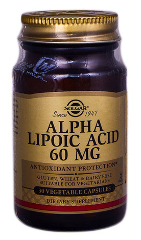 Solgar Альфа-ліпоєва кислота капсули 60 мг 30 шт