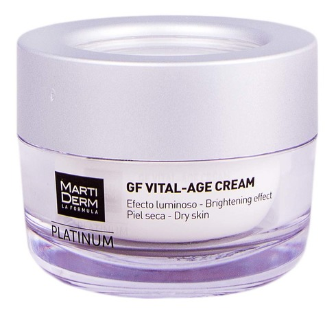 MartiDerm Platinum GF Вітал-Ейдж крем для сухої шкіри 50 мл 1 банка