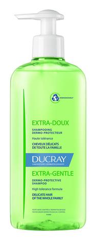 Ducray Extra-doux Шампунь делікатний, що захищає шкіру голови 400 мл 1 флакон
