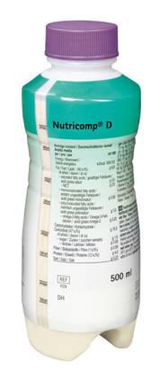 B.Braun Нутрікомп Д нейтральний спеціалізоване харчування 500 мл