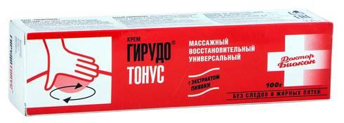 Гірудотонус крем 100 г 1 туба