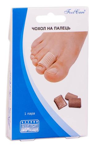 Foot Care SA-9017A Чохол на палець розмір M (15-20 мм) 1 пара