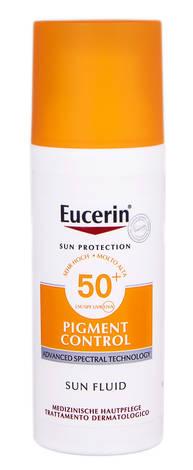Eucerin Sun Protection Флюїд сонцезахисний для обличчя проти гіперпігментації SPF-50+ 50 мл 1 флакон