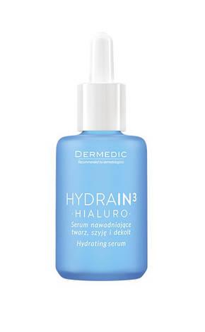 Dermedic Hydrain3 Гіалуро зволожуюча сироватка для обличчя та шиї 62288 30 мл 1 флакон