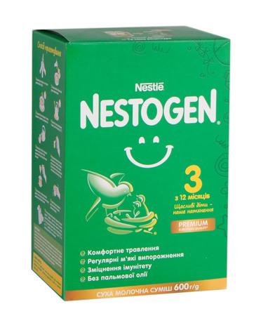 Nestogen 3 Суха молочна суміш з 12 місяців 600 г 1 коробка