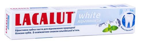 Lacalut White Зубна паста Альпійська м'ята 75 мл 1 туба