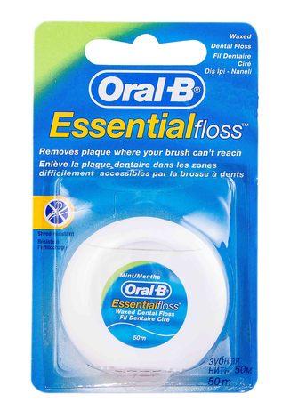 Oral-B Есенціал Зубна нитка воскова Ментол 1 шт
