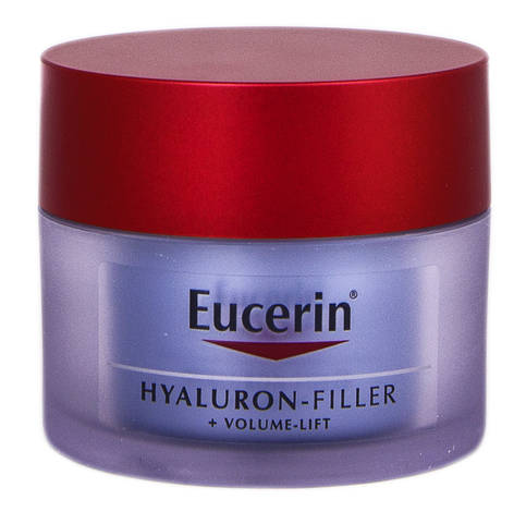 Eucerin Hyaluron-Filler + Volume-lsft Крем нічний антивіковий для шкіри обличчя 50 мл 1 банка