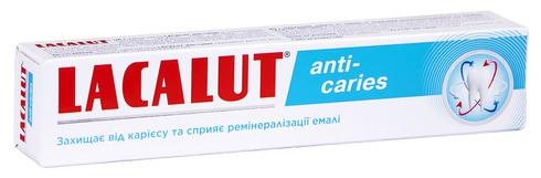 Lacalut Anti-Caries Зубна паста 75 мл 1 туба