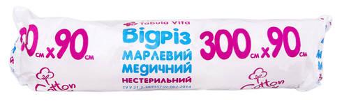 Tabula Vita Марлевий відріз медичний нестерильний 300 х 90 см 1 шт