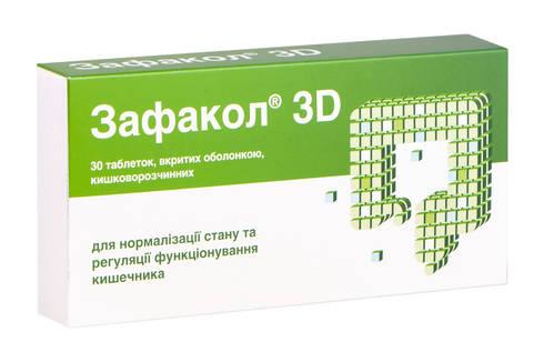 Зафакол 3D таблетки 30 шт