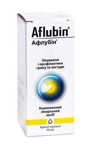 Афлубін краплі оральні 50 мл 1 флакон